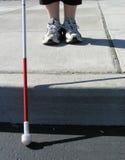 niewidomy podróżnik zdjęcie royalty free