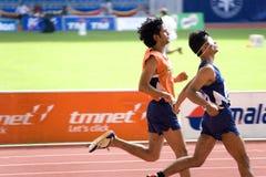 niewidomy sportowcy, obraz royalty free
