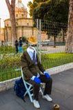 niewidziainy człowiek Zdjęcie Stock