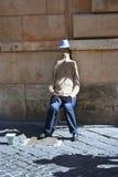 niewidzialny mężczyzna Zdjęcia Royalty Free