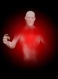 Niewidzialny mężczyzna Zdjęcie Royalty Free