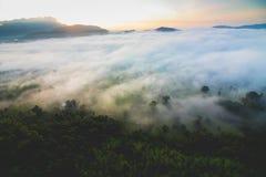 Niewidziany Tajlandia Khao Phao Phitsanulok landscap Obraz Stock