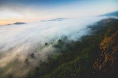 Niewidziany Tajlandia Khao Phao Phitsanulok landscap Fotografia Royalty Free