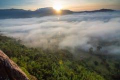 Niewidziany Tajlandia Khao Phao Phitsanulok landscap Zdjęcie Royalty Free