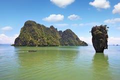 niewolna wyspa James wspaniały Thailand Fotografia Royalty Free
