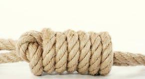 niewolnictwo zbliżenia węzeł Fotografia Royalty Free
