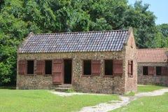 Niewolnicze kabiny w Boone Hall plantaci Obrazy Stock