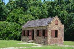 Niewolnicze kabiny w Boone Hall plantaci Zdjęcia Royalty Free