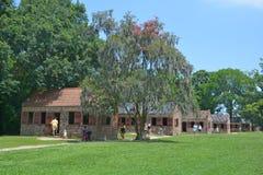 Niewolnicze kabiny w Boone Hall plantaci Zdjęcie Royalty Free