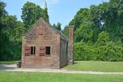 Niewolnicze kabiny w Boone Hall plantaci Fotografia Stock