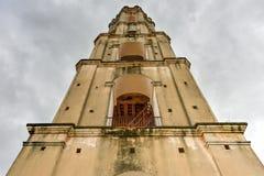Niewolniczy zegarka wierza - Manaca Iznaga, Kuba Zdjęcie Royalty Free
