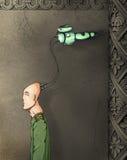 niewolnik cybernetyczny Ilustracji