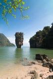 niewolny wyspy James koh tabu Zdjęcie Royalty Free