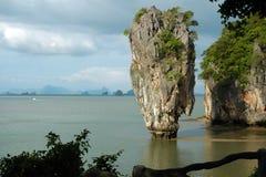 niewolny wyspy James koh tapoo Thailand Zdjęcia Royalty Free