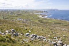 Niewygładzona Irlandzka wieś fotografia stock