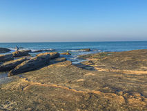 Niewygładzona plaża, Macae, RJ, Brazylia Obraz Royalty Free