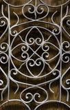Niewygładzony czarny metal textured tło fotografia stock