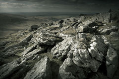 Niewygładzony Dziki krajobraz obraz stock