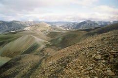 Niewygładzony górzysty krajobraz obrazy royalty free