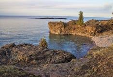 Niewygładzony Jeziorny przełożony obrazy stock