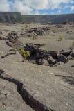 Niewygładzony Kilauea Iki ślad obraz royalty free