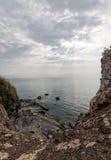 Niewygładzony krajobraz przy brzeg Koh Lanta zdjęcie royalty free
