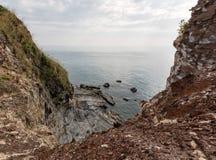 Niewygładzony krajobraz przy brzeg Koh Lanta zdjęcia royalty free