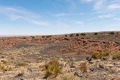 Niewygładzony pustynia krajobraz obraz stock