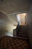 Niewygładzony schody zdjęcia royalty free