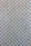 Niewygładzony stalowej podłoga korytarz Fotografia Royalty Free