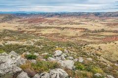 Niewygładzony teren północny Kolorado obraz royalty free