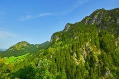Niewygładzony wzgórze w Hohenschwangau obraz royalty free