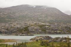 Niewygładzony Yukon krajobraz fotografia stock