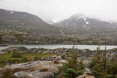 Niewygładzony Yukon krajobraz obraz stock