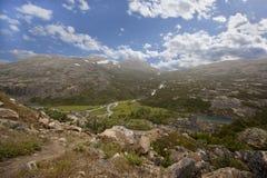 Niewygładzony Yukon krajobraz obrazy royalty free