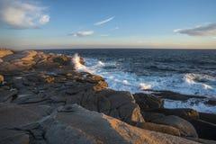 Niewygładzona nowa Scotia linia brzegowa Zdjęcie Royalty Free