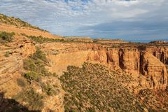 Niewygładzony Kolorado Krajowego zabytku krajobraz Fotografia Stock