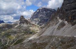 Niewygładzony pustkowie w górach Obrazy Royalty Free