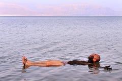 Nieżywy morze - Izrael Fotografia Royalty Free