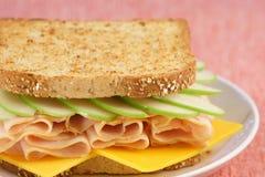 niezła pykniczna kanapka? Zdjęcia Royalty Free