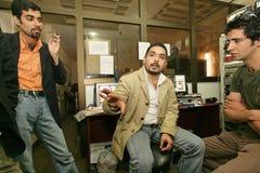 Niezależna Irakijska telewizyjna stacja, Cario Obrazy Stock