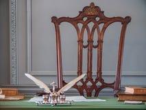 Niezależność Hall dokąd deklaracja niepodległości i U S Konstytucja podpisywał obraz stock