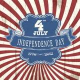 niezależności plakat projektujący rocznik ilustracja wektor