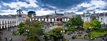 niezależności Quito kwadrat Zdjęcia Royalty Free