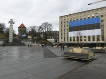 Niezależny dzień Estonia Zdjęcia Royalty Free