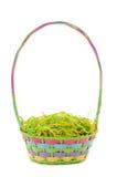 niezapełniony koszykowy Easter Zdjęcie Royalty Free
