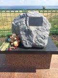 Niezapomnianej pamiątkowej oddanej ofiary śmiertelnej zapadnięty statek Bułgaria obraz stock