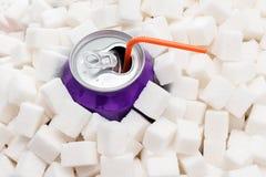 Niezdrowy jedzenie i napoje Obrazy Stock