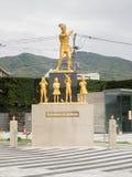 Niezidentyfikowana statua fotografia stock