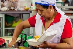Niezidentyfikowana szef kuchni kobieta Od Banos Obraz Royalty Free
